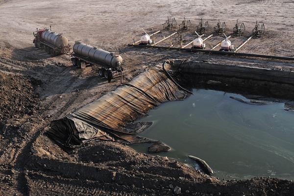 Fracking operations toxic basin