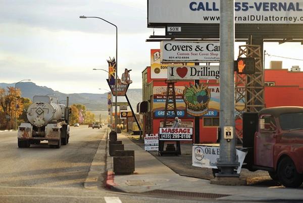 Vernal, Utah, fracking boomtown