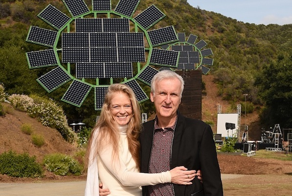 James Cameron Solar Sunflowers