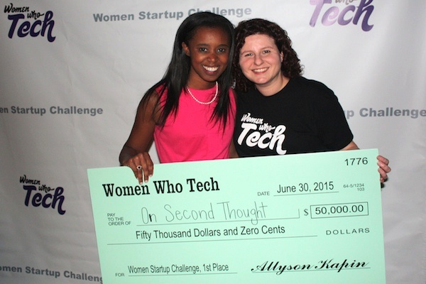 Women-Startup-Challenge-maci-peterson-on-second-thought-first-place