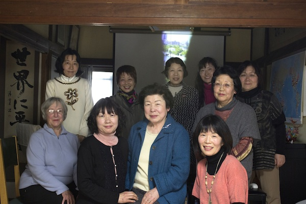 Hiroshima women share stories to the next generation of women