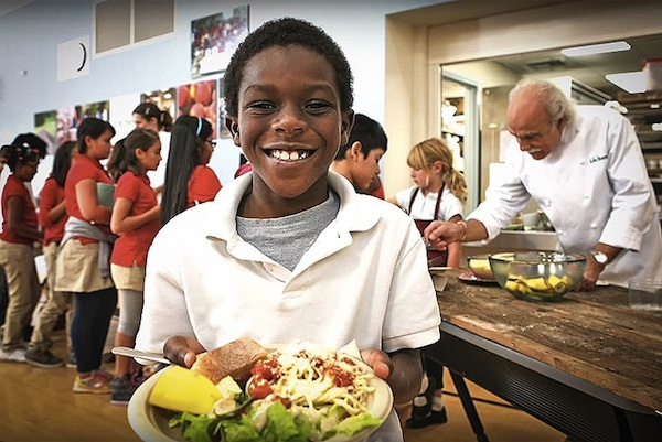 All-Organic Public School Cafeteria