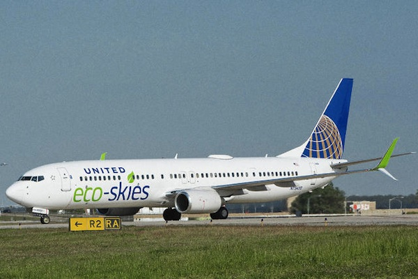 United Airlines Eco-Skies