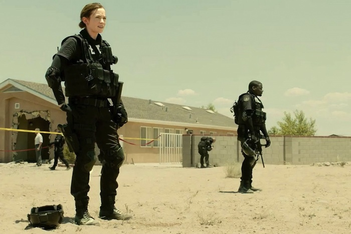 Emily Blunt in Sicario, challenges stereotypes in Hollywood