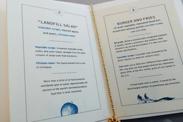 Landfill Salad - Food Waste menu