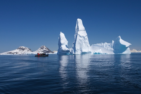 Women Scientists head to Antarctica to address climate change.