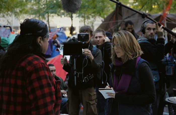 Thia Changes everything - Naomi Klein on the set
