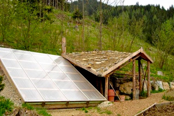 $300 underground greenhouse grows food year round