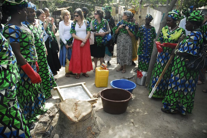 Gambian Women Turn Trash Into Treasure