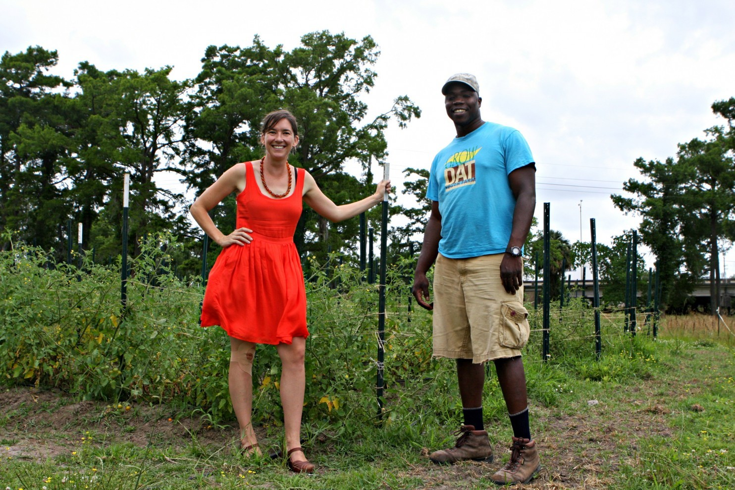 row Dat Youth Farm founder Johanna Gilligan