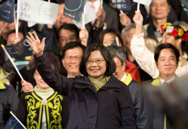 Tsai Ing-wen, Taiwan President, ©Ashley Pon/Getty Images