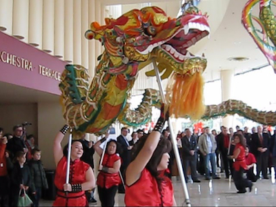Dragon Dance by The Mothers, Chinese New Year, San Francisco