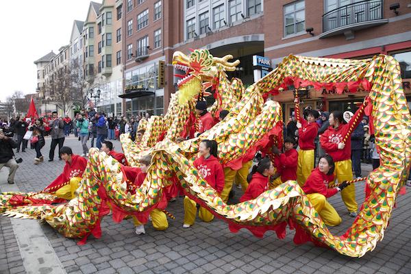 Dragon Dance, Chinese New Year, USA