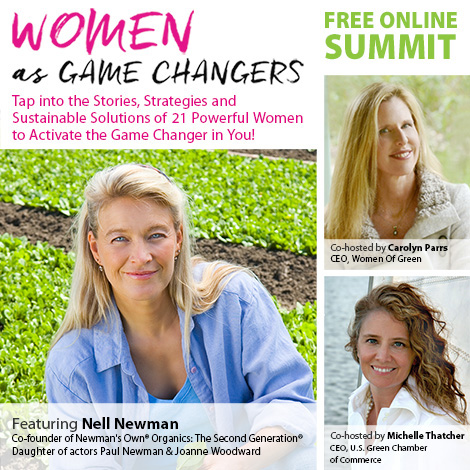 Women as Game Changers Nell Newman
