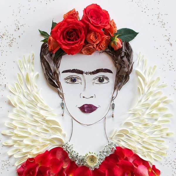 flowerart-saintfrida-women-of-green