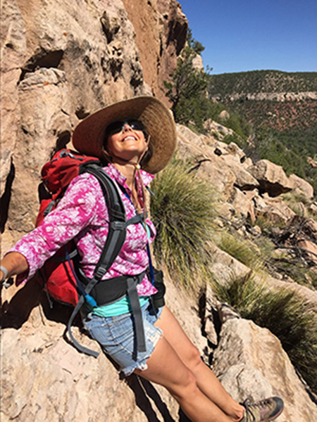 woman-backpacking-in-sabinoso-wilderness-by-mark-allison-women-of-green